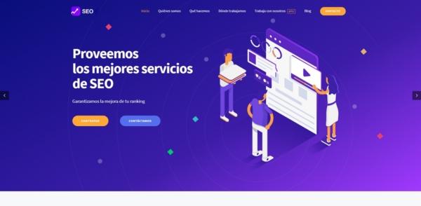 Página web para negocio