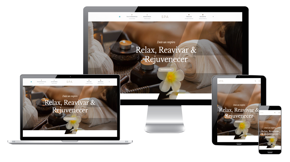 Diseños web responsive