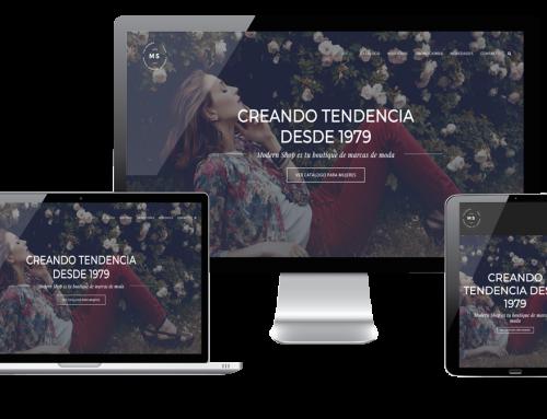 Página Web para tu tienda de ropa