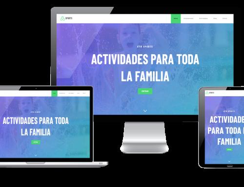 Página Web para tu gimnasio
