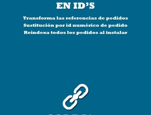 Referencia de pedidos en ID's