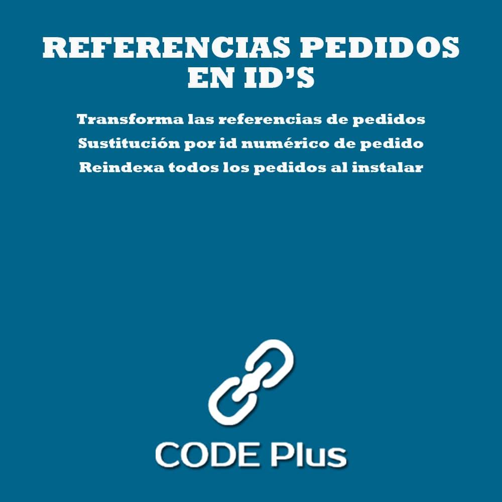 Módulo Referencia de pedido en ID
