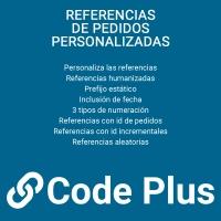Referencias de pedidos personalizadas
