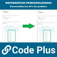 Pantalla 2 Módulo de Referencias de Pedidos Personalizadas