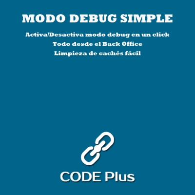 Módulo modo debug simple