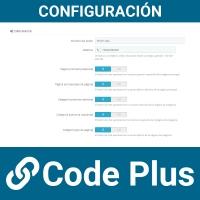 Back office de configuración de módulo de whatsapp
