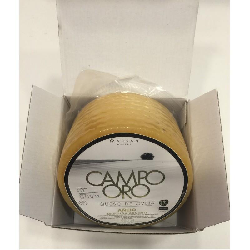 Queso de oveja puro añejo Campo Oro de Jamonia