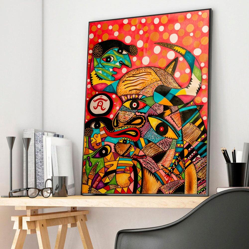 Tarifa Fine Art - Cuadro de arte Toro Bravo